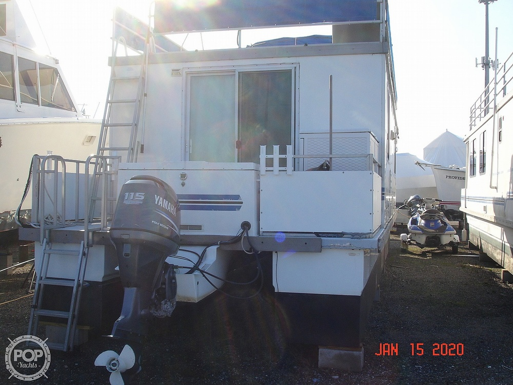 2007 Catamaran boat for sale, model of the boat is 42 Vagabond & Image # 10 of 40