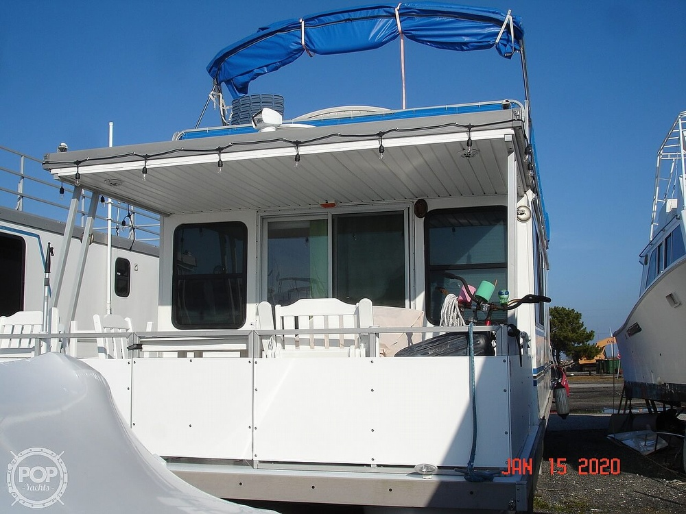 2007 Catamaran boat for sale, model of the boat is 42 Vagabond & Image # 12 of 40