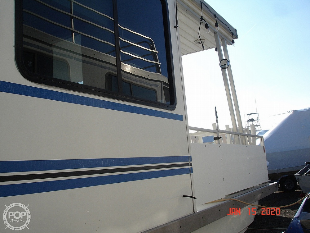 2007 Catamaran boat for sale, model of the boat is 42 Vagabond & Image # 21 of 40