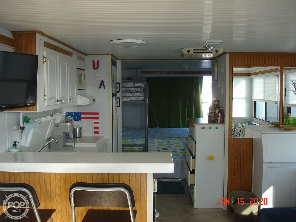 2007 Catamaran boat for sale, model of the boat is 42 Vagabond & Image # 35 of 40