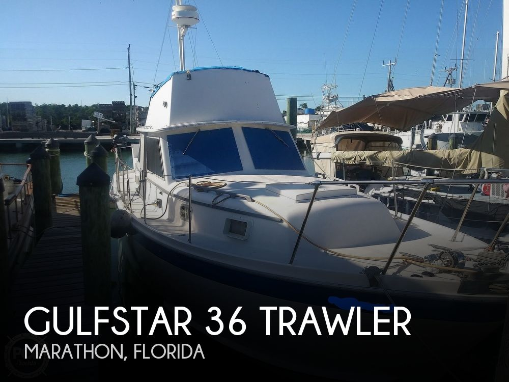 Used Trawlers For Sale in Florida by owner | 1973 Gulfstar 36 Trawler