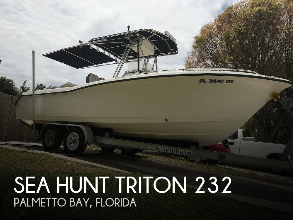 Used Sea Hunt Triton 232 Boats For Sale by owner | 2005 Sea Hunt Triton 232