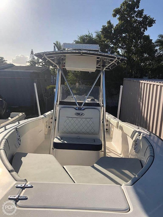 2005 Sea Hunt boat for sale, model of the boat is Triton 232 & Image # 4 of 41