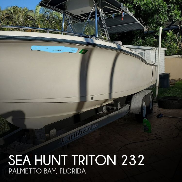 2005 Sea Hunt boat for sale, model of the boat is Triton 232 & Image # 1 of 41