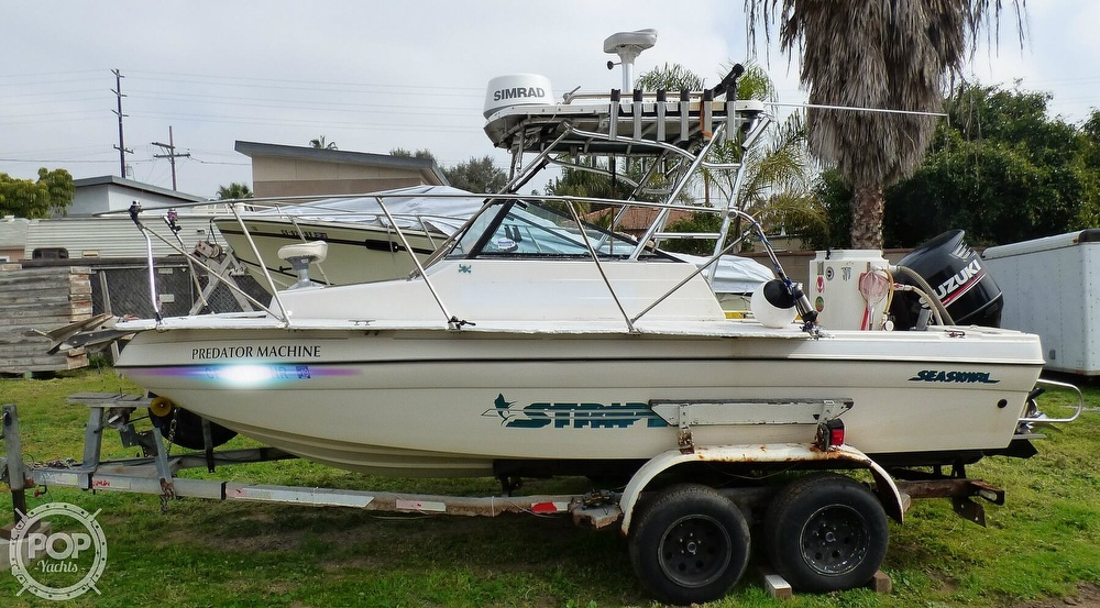 1995 Seaswirl boat for sale, model of the boat is Striper 2000 WA & Image # 4 of 41
