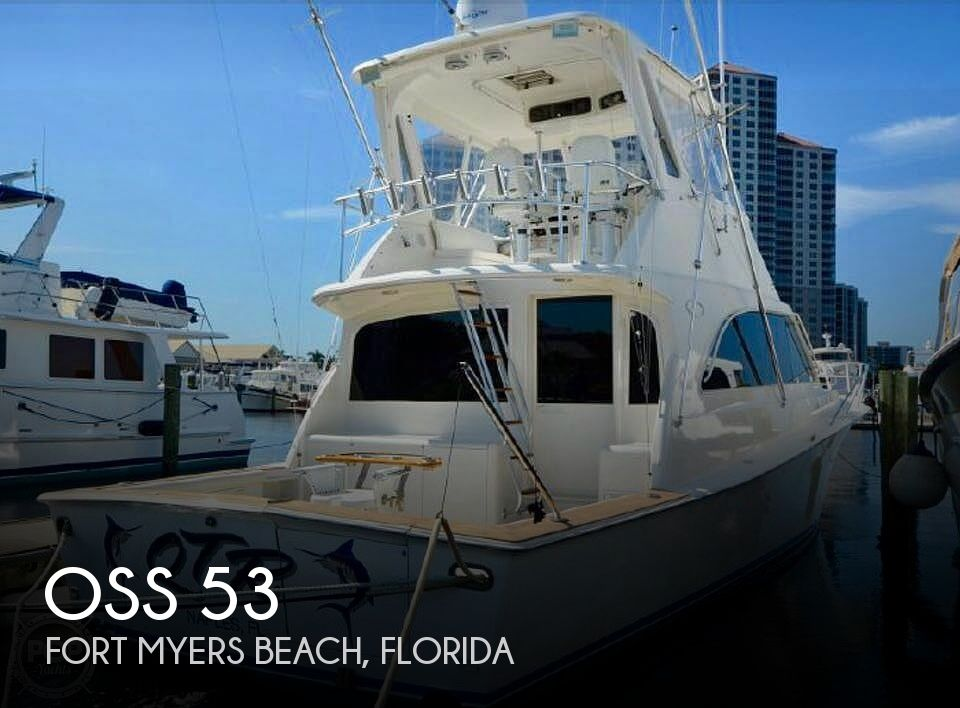 Used Boats For Sale in Naples, Florida by owner | 1997 Ocean Super Sport 53