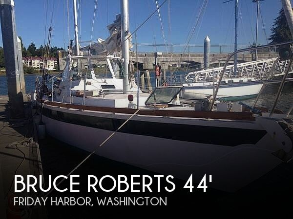 Used Bruce Roberts Boats For Sale by owner | 1984 Bruce Roberts Offshore 44