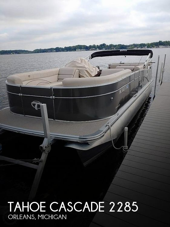 Used Pontoon Boats For Sale in Michigan by owner | 2014 Tahoe Cascade 2285