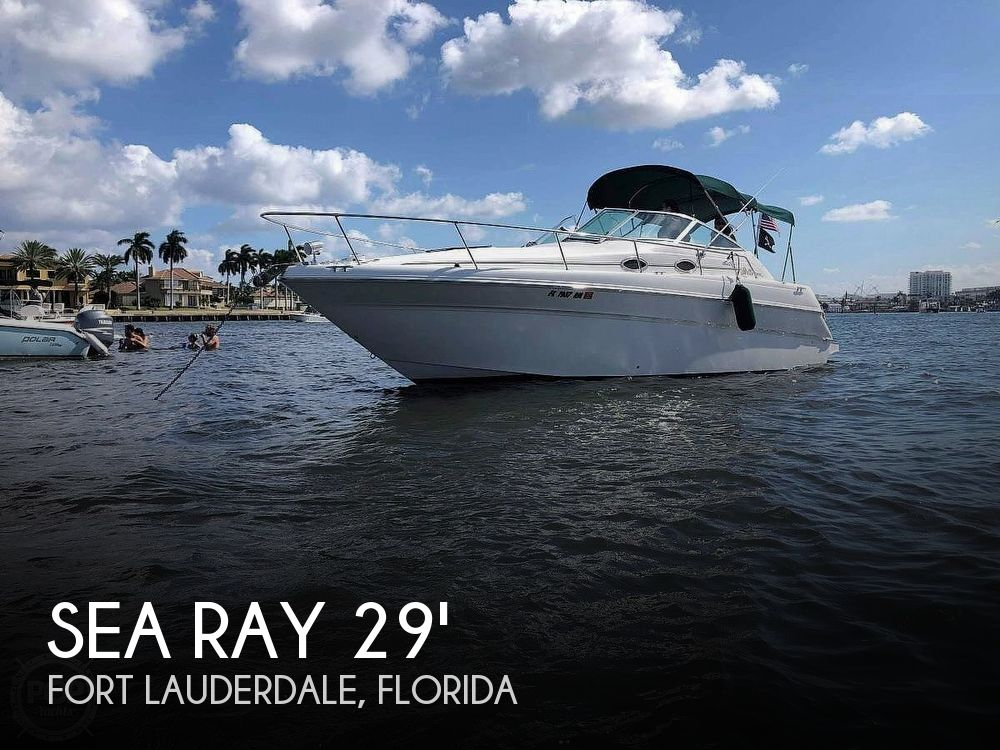 Used Sea Ray 270 sundancer Boats For Sale by owner | 1999 Sea Ray 270 Sundancer