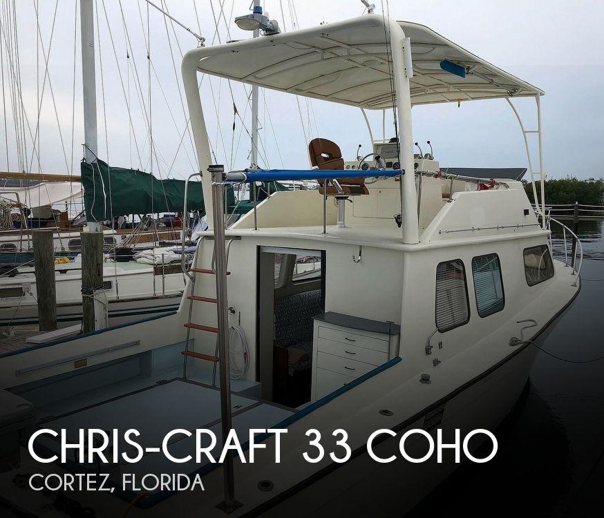 1972 CHRIS CRAFT 33 COHO for sale