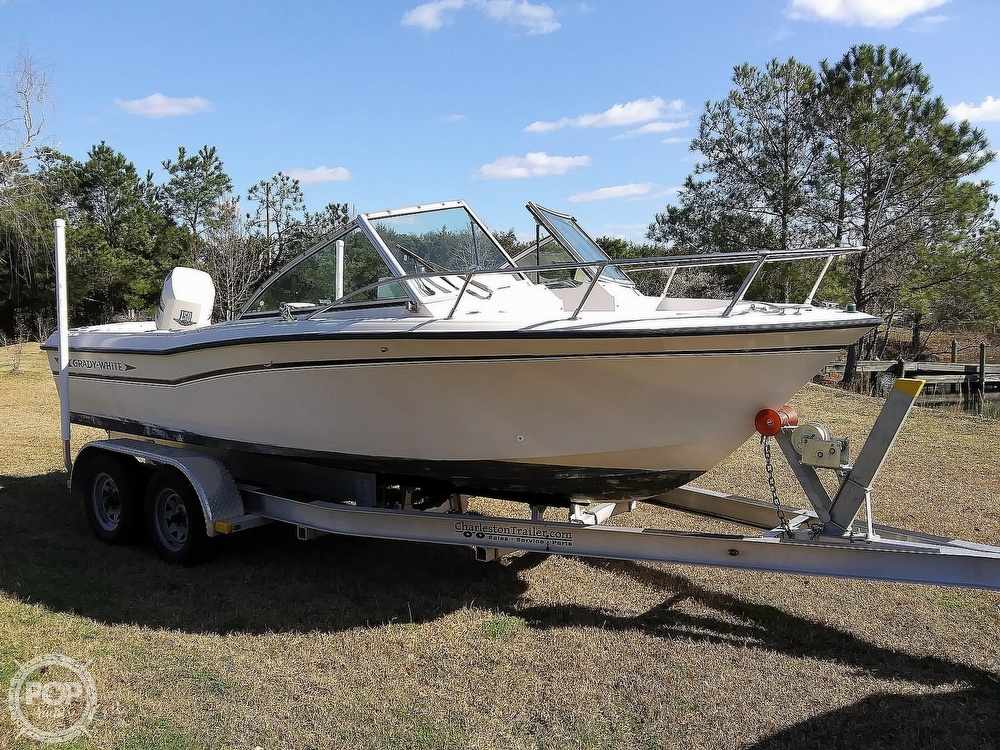 1992 Grady-White boat for sale, model of the boat is 190 Tournament & Image # 4 of 40