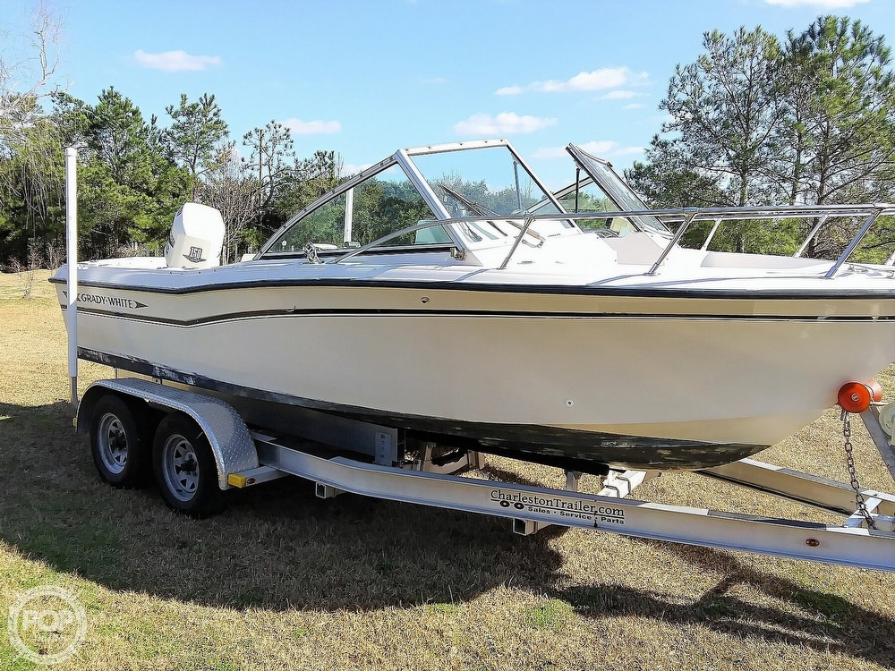 1992 Grady-White boat for sale, model of the boat is 190 Tournament & Image # 5 of 40