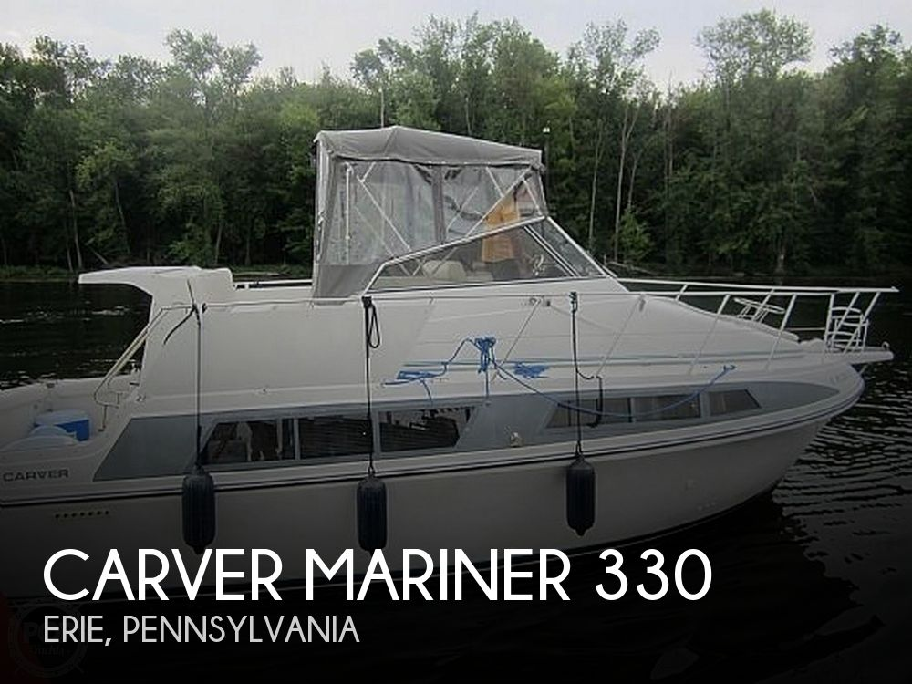 Used Carver 33 Boats For Sale by owner | 1995 Carver marnier 330