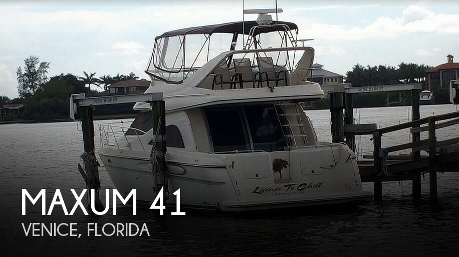 Used Maxum Boats For Sale by owner | 1998 Maxum 41