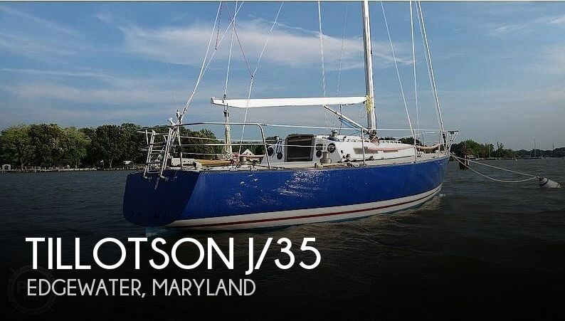 Used Pearson Sailboats For Sale by owner | 1985 Tillotson & Pearson J/35