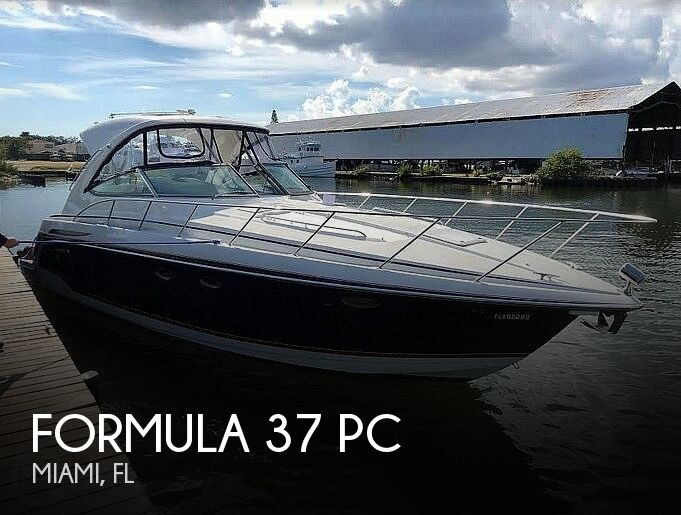 2009 Formula boat for sale, model of the boat is 37 PC & Image # 1 of 40