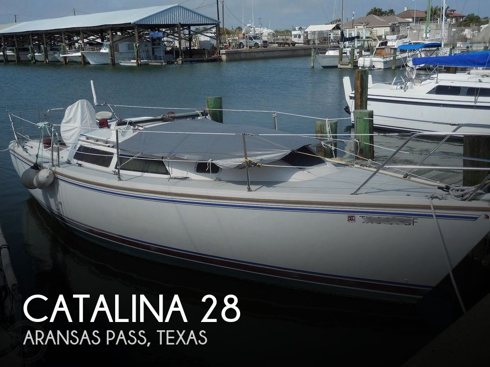 1990 Catalina Yachts boat for sale, model of the boat is 28 & Image # 1 of 40