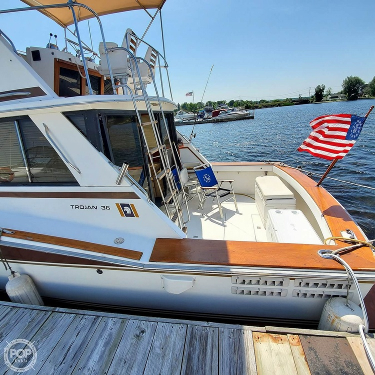 1979 Trojan boat for sale, model of the boat is 36 & Image # 7 of 40