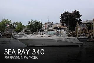 2006 Sea Ray boat for sale, model of the boat is 340 Sundancer & Image # 1 of 17