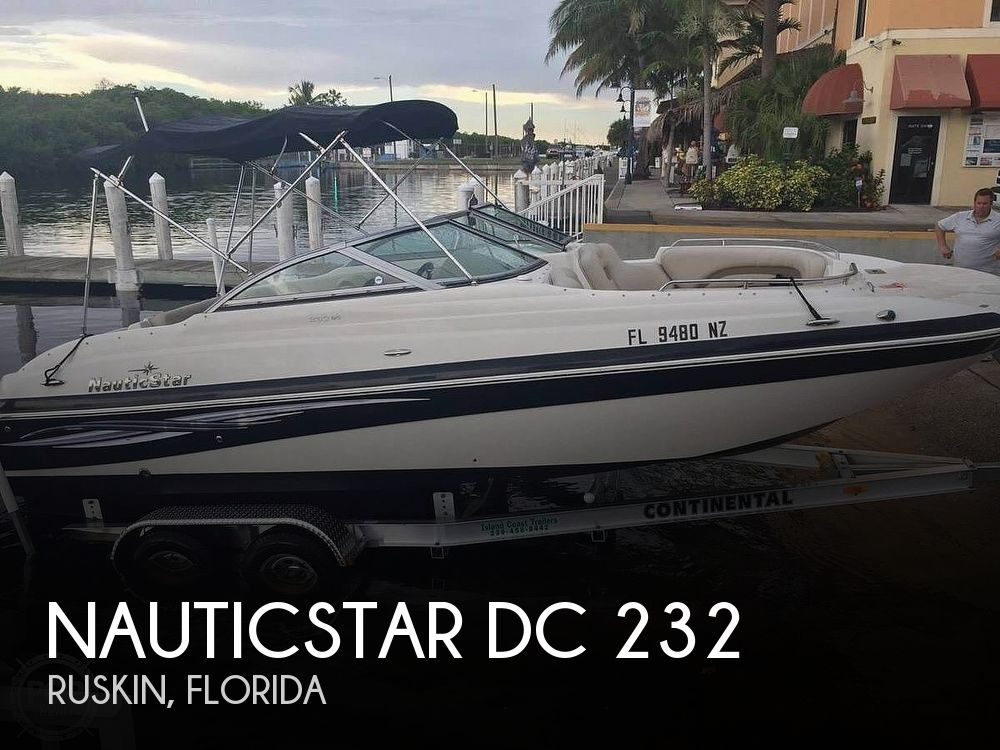 Used NauticStar Deck Boats For Sale in Florida by owner | 2009 NauticStar DC 232