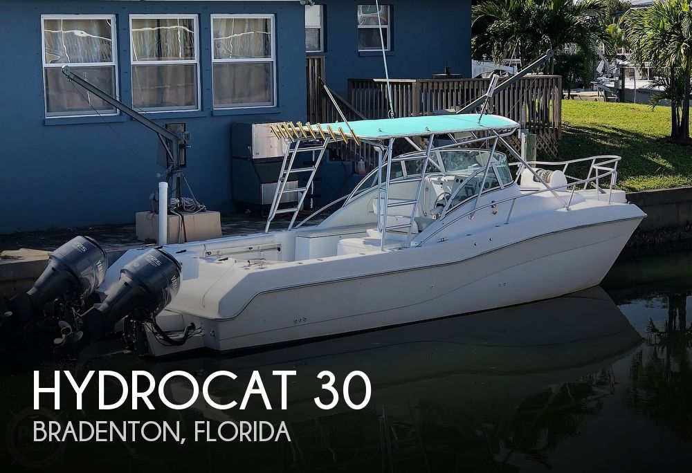 2001 Hydrocat boat for sale, model of the boat is 30 & Image # 1 of 40