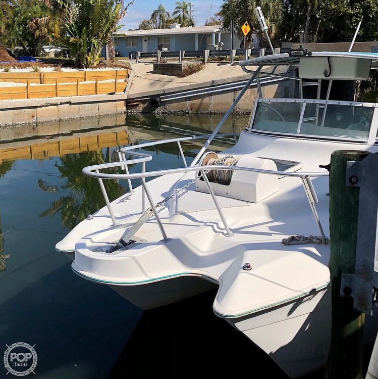 2001 Hydrocat boat for sale, model of the boat is 30 & Image # 24 of 40