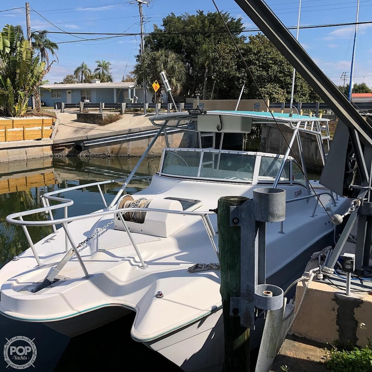 2001 Hydrocat boat for sale, model of the boat is 30 & Image # 22 of 40