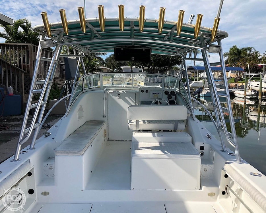 2001 Hydrocat boat for sale, model of the boat is 30 & Image # 2 of 40
