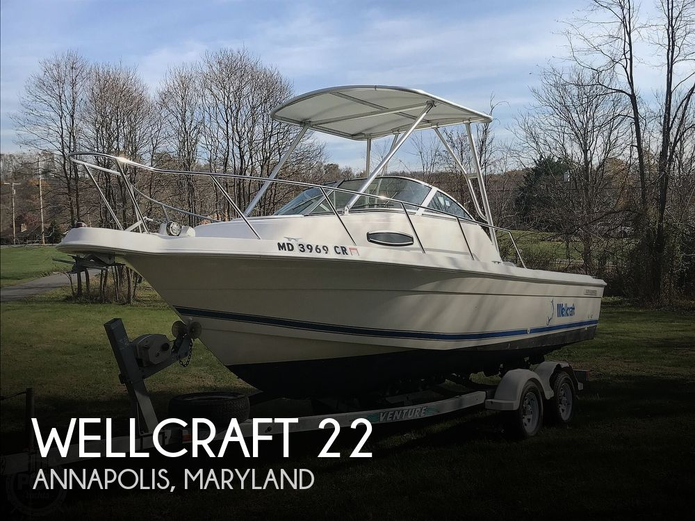 Used Wellcraft 20 Boats For Sale in Maryland by owner | 2000 Wellcraft 2200