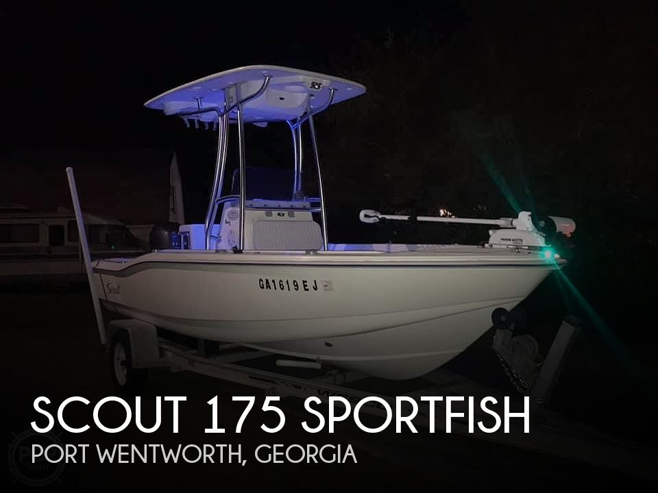 Used Fishing boats For Sale in Georgia by owner | 2000 Scout 175 Sportfish