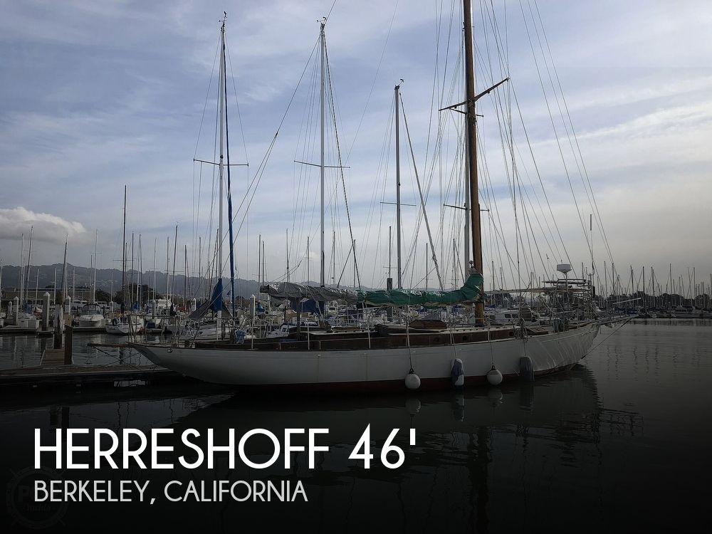 Used Sailboats For Sale in California by owner | 1937 46 foot Herreshoff John G Alden Bermudan Yawl