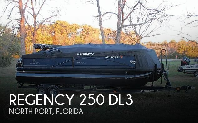 Used Pontoon Boats For Sale in Florida by owner | 2019 Regency 250 DL3