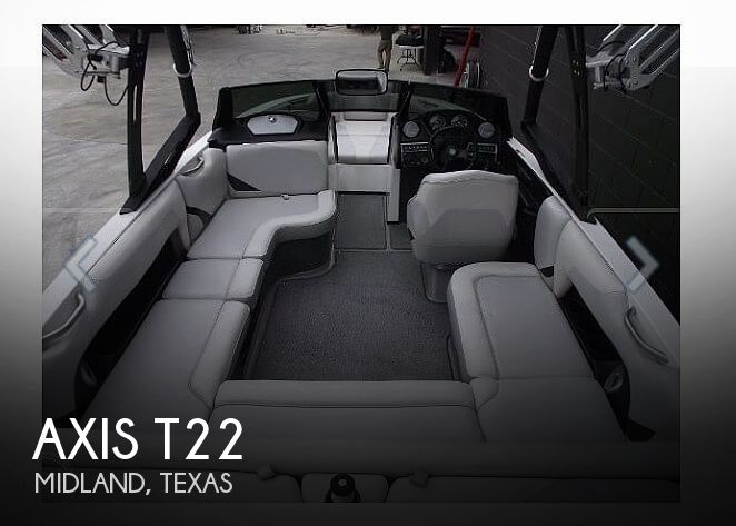 Used Boats For Sale in Midland, Texas by owner | 2014 Axis T22