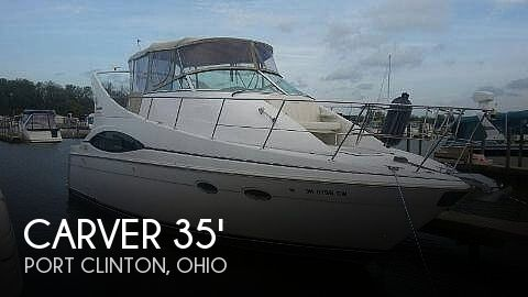 Used Motoryachts For Sale in Ohio by owner | 2000 Carver 350 Mariner Salon