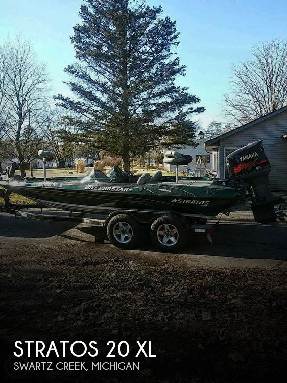 Used Stratos Boats For Sale in Michigan by owner   2002 Stratos 20'