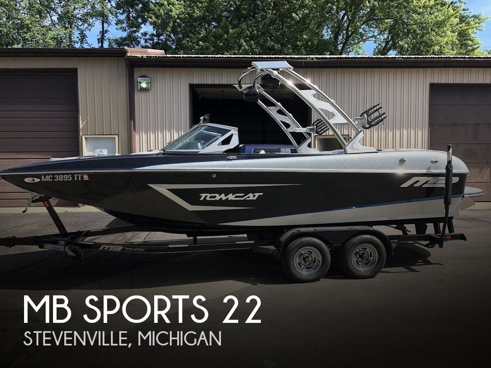Used Boats For Sale in Kalamazoo, Michigan by owner | 2015 MB Sports 22