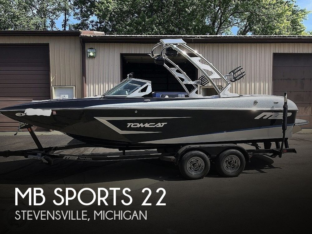 2015 MB Sports boat for sale, model of the boat is F22 Tomcat & Image # 1 of 40