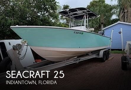 Used SEACRAFT Boats For Sale by owner | 2001 SeaCraft 25