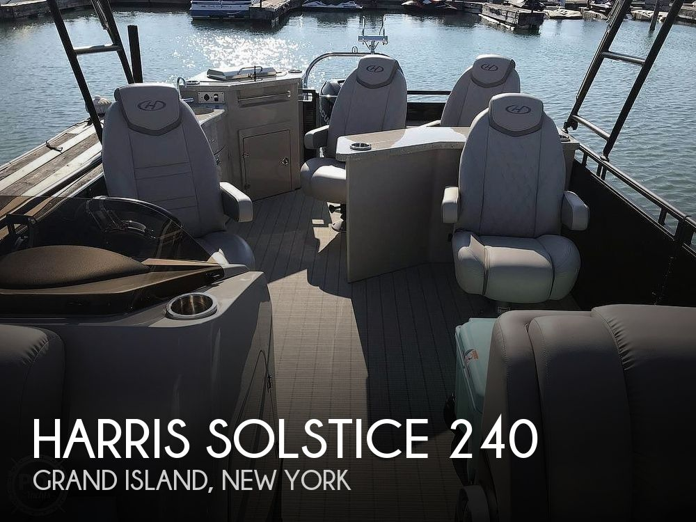 Used Pontoon Boats For Sale by owner | 2017 Harris Solstice 240
