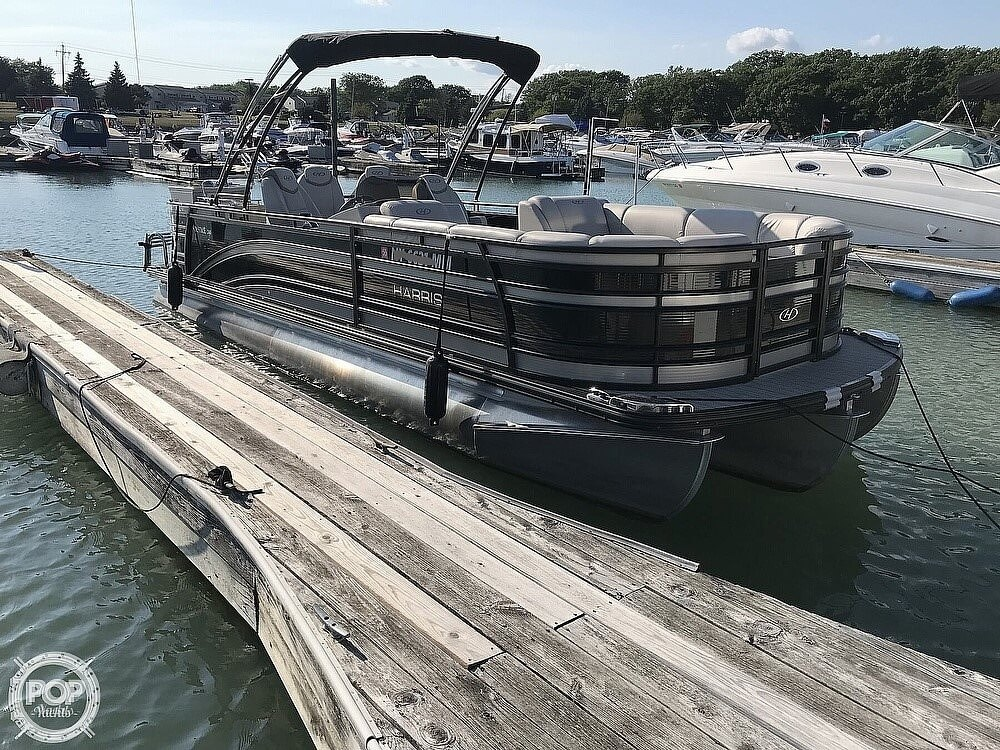 2017 Harris boat for sale, model of the boat is Solstice 240 & Image # 2 of 41