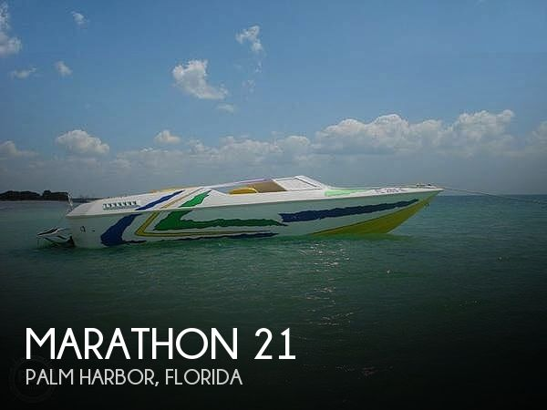 Used Marathon Boats For Sale by owner   1985 Marathon 21