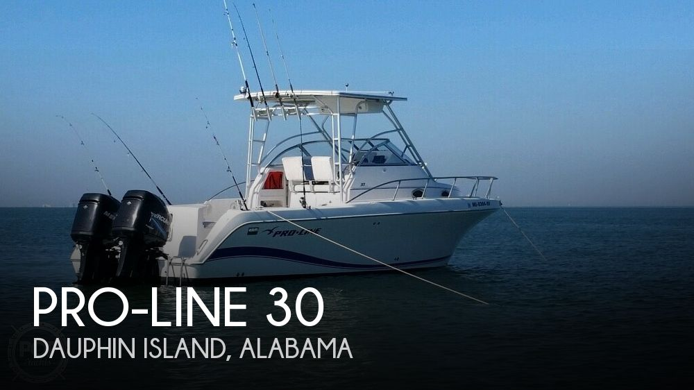 2004 Pro-Line boat for sale, model of the boat is 30 Walk & Image # 1 of 41