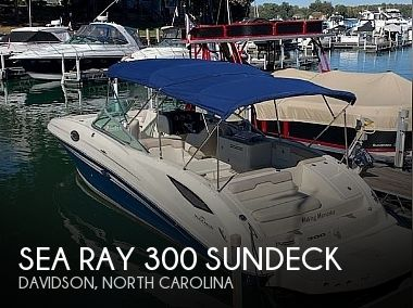 Used Boats For Sale in Greensboro, North Carolina by owner | 2010 Sea Ray 300 Sundeck