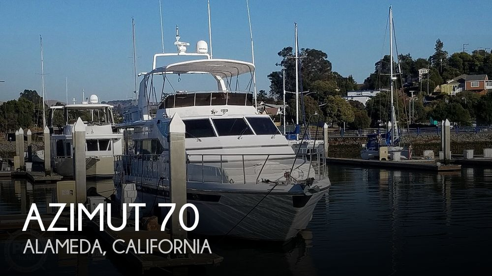 Used Boats For Sale in San Jose, California by owner | 1988 Azimut 71