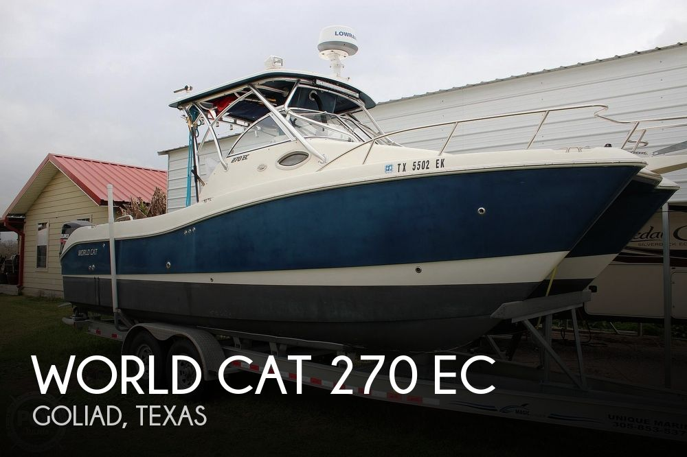 Used World Cat Boats For Sale by owner | 2008 World Cat 270 EC