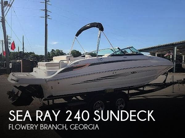 Used Sea Ray 24 Boats For Sale by owner | 2012 Sea Ray 240 Sundeck