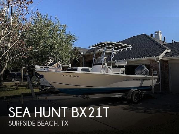 Used Sea Hunt BX21T Boats For Sale by owner | 2007 Sea Hunt BX21T