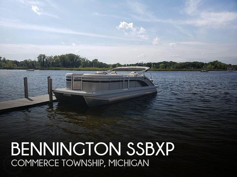 Used Pontoon Boats For Sale in Michigan by owner | 2019 24 foot Bennington SSBXP