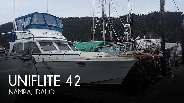 Used Boats For Sale in Alaska by owner | 1979 Uniflite 42