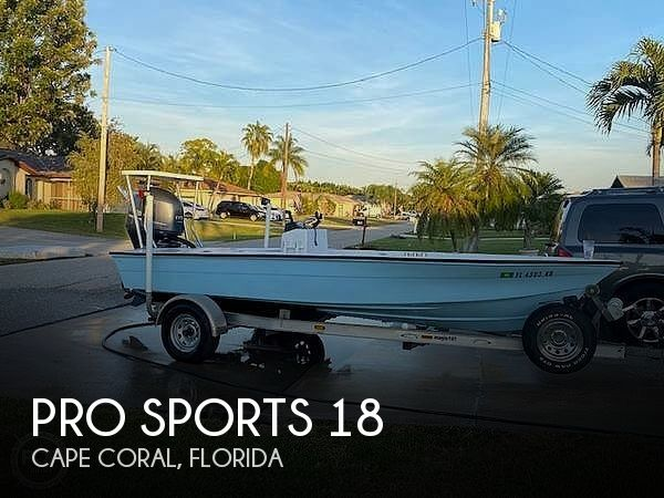 Used Pro Sports Boats For Sale by owner | 1997 Pro Sports 18